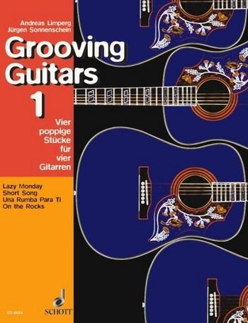 Grooving guitars Band 1 4 poppige Stücke für 4 Gitarren Partitur und Stimmen