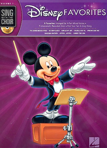 Disney Favorites (+CD) for mixed chorus a cappella