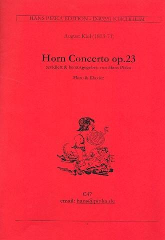 Konzert op.23 für Horn und Orchester für Horn und Klavier