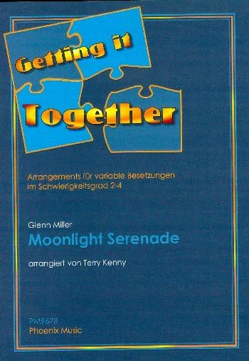 Moonlight Serenade für variable Besetzung Partitur und Stimmen