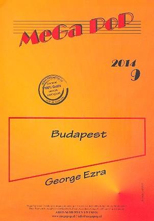 Budapest: für Klavier (mit Text und Akkorden)