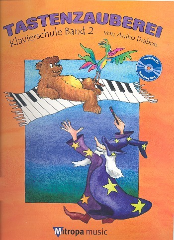 Tastenzauberei Band 2 (+CD) für Klavier