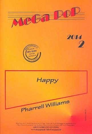 Happy: für Klavier (mit Text und Akkorden)