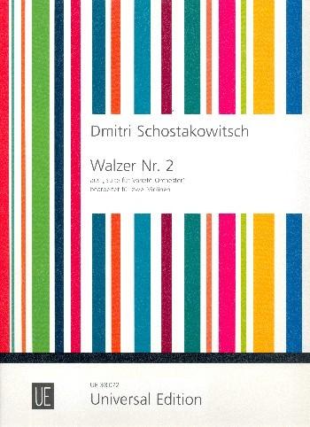 Walzer Nr.2 für 2 Violinen Spielpartitur