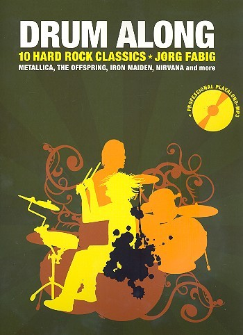 Drum Along - Hard'n'heavy (+MP3-CD): für Schlagzeug