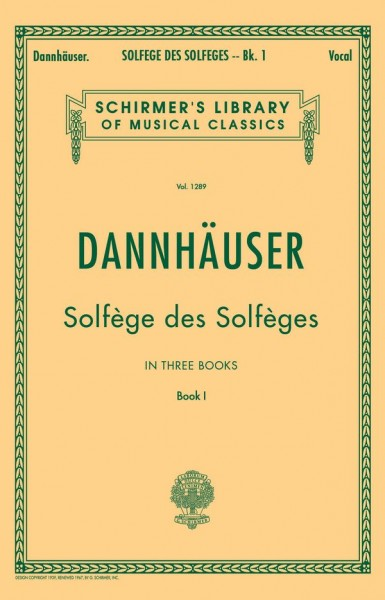 Solfege des Solfeges vol.1 Preparatory exercises