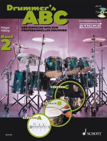 Drummer's ABC Band 2 (+CD) für Schlagzeug