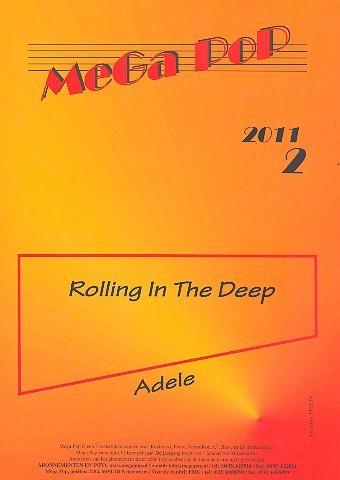 Rolling in the Deep: für Klavier (en) (mit Text und Akkorden)
