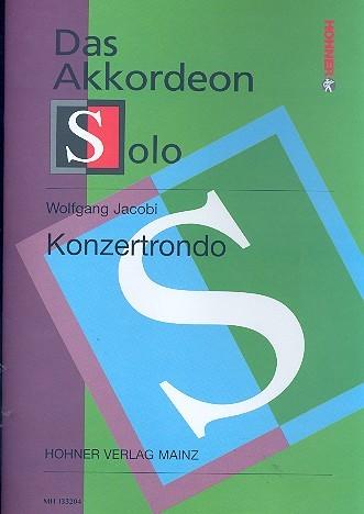 Konzertrondo für Akkordeon solo