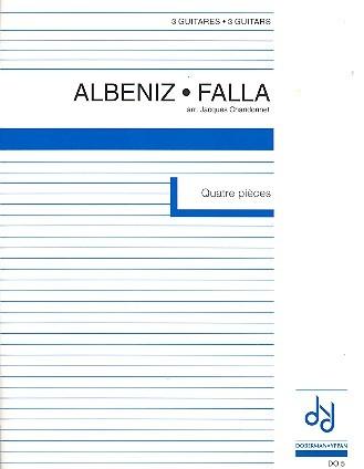 4 pièces pour 3 guitares (Albeniz / De Falla)