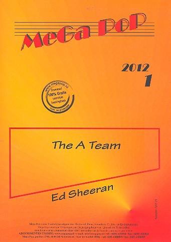 The A Team: für Klavier (en) (mit Text und Akkorden)