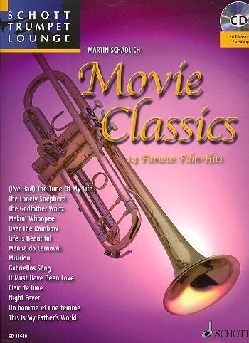 Movie Classics (+CD): für Trompete und Klavier