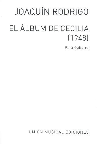 El álbum de Cecilia 6 piezas fáciles adaptadas para guitarra