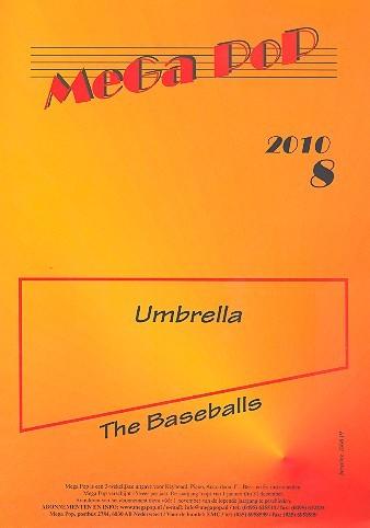 Umbrella: Einzelausgabe Klavier mit Text