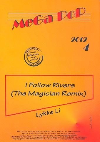 I follow Rivers für Klavier (Gesang/Gitarre)