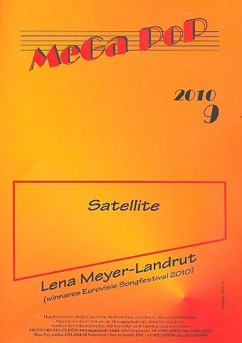 Satellite: Einzelausgabe für Klavier mit Text