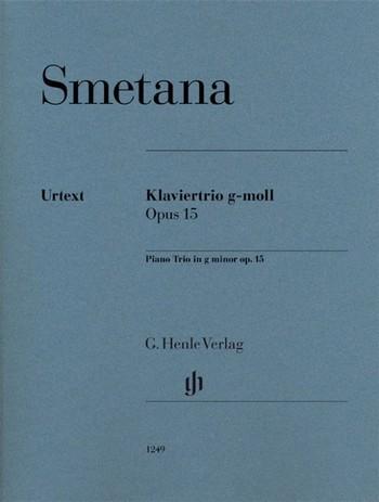 Trio g-Moll op.15 für Violine, Violoncello und Klavier Partitur und Stimmen