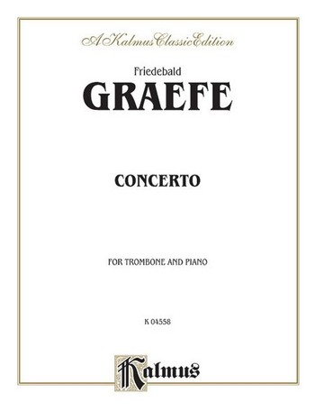 Concerto for trombone and orchestra for trombone and piano