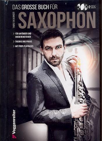Das große Buch für Saxophon (+ 2 CD's)