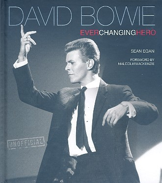 David Bowie - Ever changing Hero big personality book gebunden