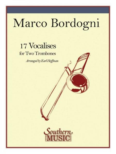 17 Vocalices for 2 trombones score
