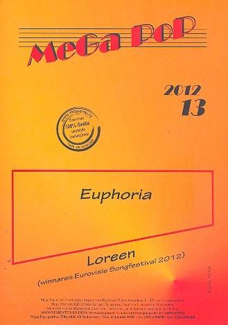 Euphoria: für Klavier (mit Text und Akkorden)