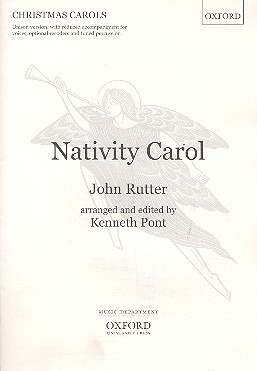 Nativity Carol for unison voices and piano score