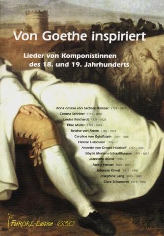 Von Goethe inspiriert für Gesang und Klavier