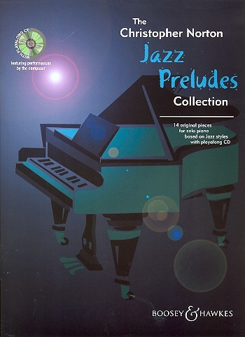 Jazz Preludes Collection (+CD): 14 original pieces for piano based on Jazz Styles